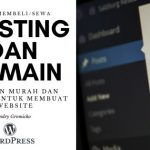 Cara membeli hosting dan domain murah dan mudah